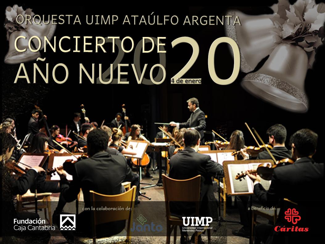 Concierto de Año Nuevo a beneficio de Cáritas Reinosa . Orquesta UIMP Ataúlfo Argenta