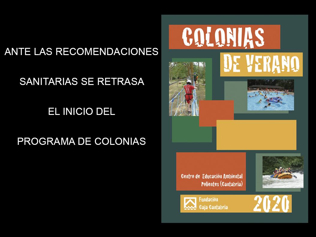 COLONIAS DE VERANO 2020