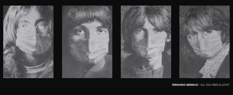 Fotografia de los Beatles