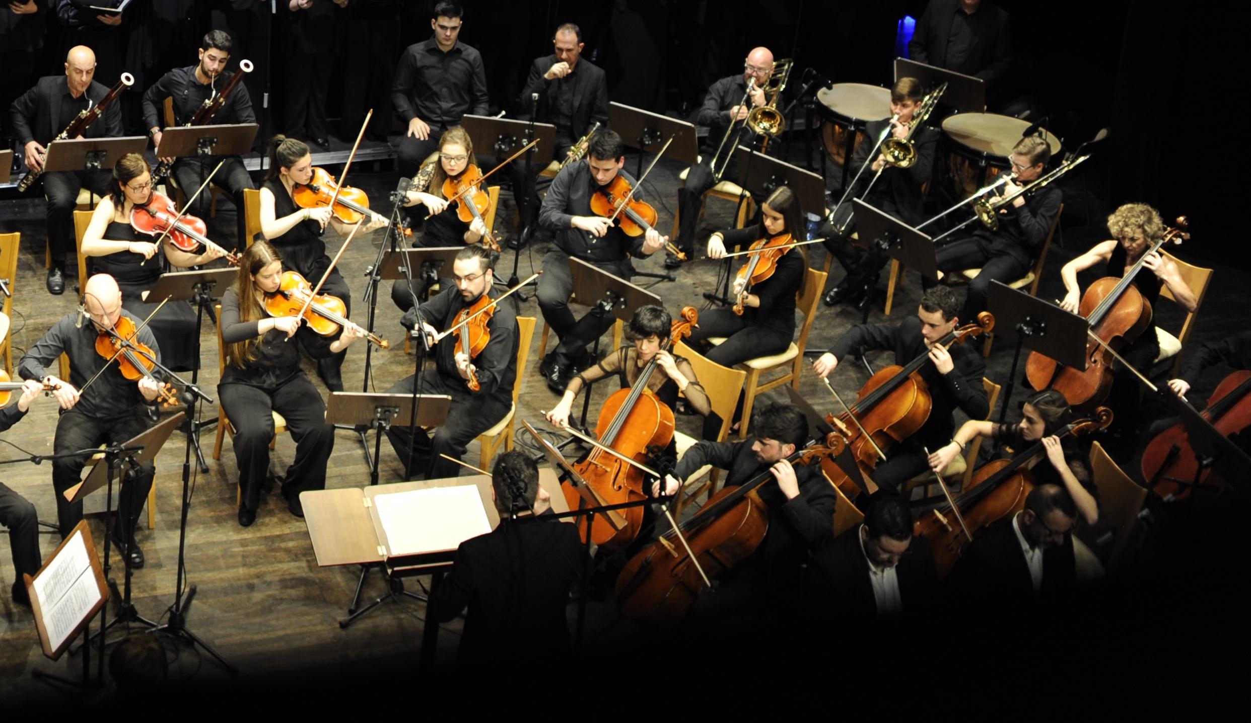 """""""KV 488"""". W. A. Mozart y """"Stabat Mater"""". G. B. Pergolesi. Ensemble y Orquesta AFC"""