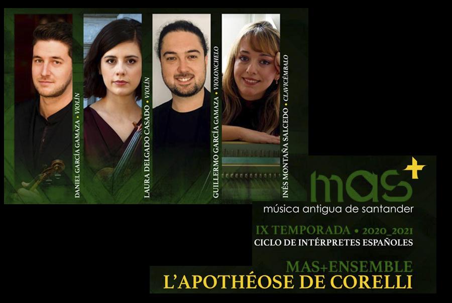 "Concierto,  ""L'Apotheose de Corelli"""