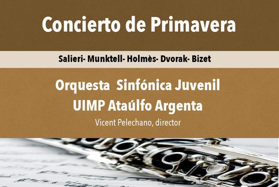 Concierto Primavera 2021. Orquesta Sinfónica Juvenil UIMP – Ataulfo Argenta